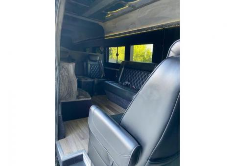 Ford F-250 Transit van limo conversion