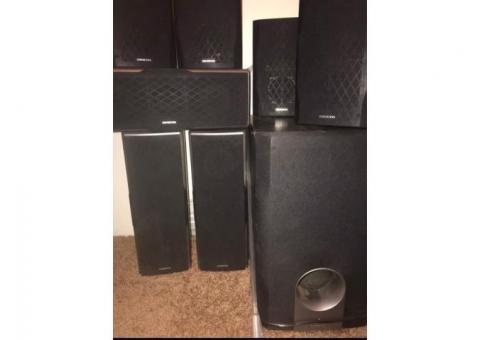 Onkyo Surround Speakers