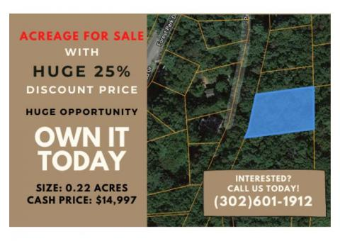 0.22 Acre Lot in Holland, MA