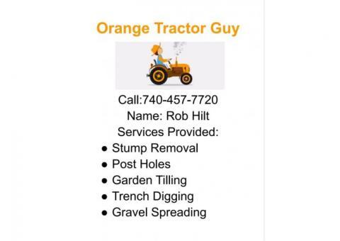 Orange Tractor Guy